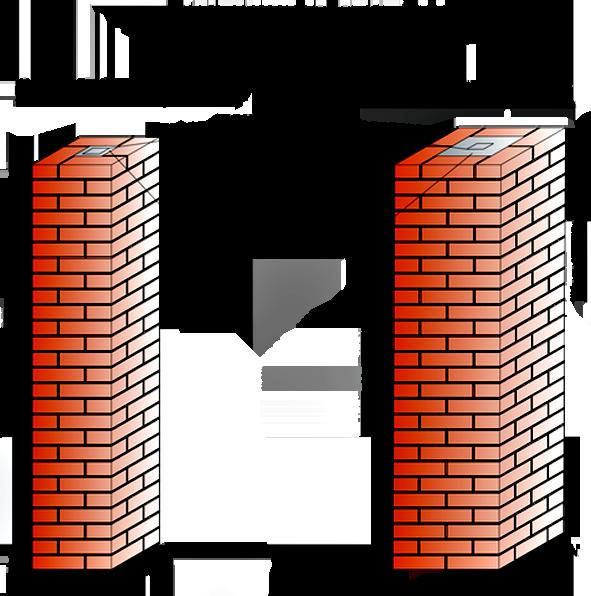 Главной особенностью является сохранение прямых углов для создания красивых и качественных строений.