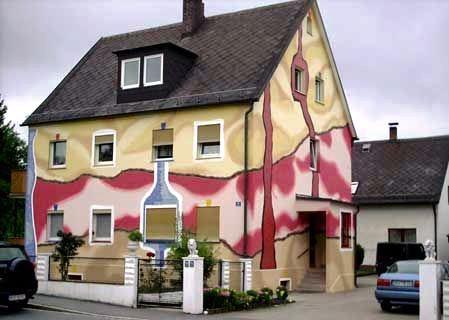 Окраска фасадов по штукатурке технология