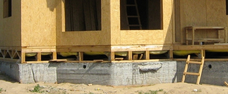 Ленточный фундамент для каркасного дома своими руками пошаговая инструкция